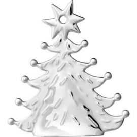 Karen Blixen Juletræ H8 forsølvet