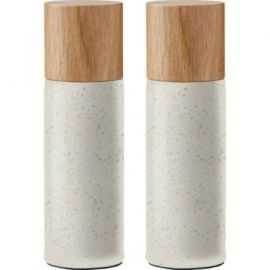 BITZ Salt & Peber 5x16,7 cm mat creme