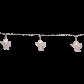 Lyskæde Engle Cherub L135 cm hvid