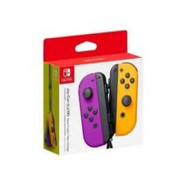 NS Joy-Con controller par neon/Lilla/Orange