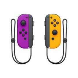 NS Joy-Con controller par neon/Lilla/Orange