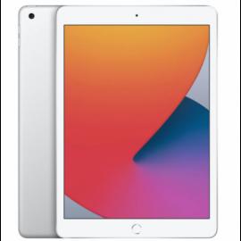 """iPad 10,2"""" 2020 MYLE2 128 GB sølv"""