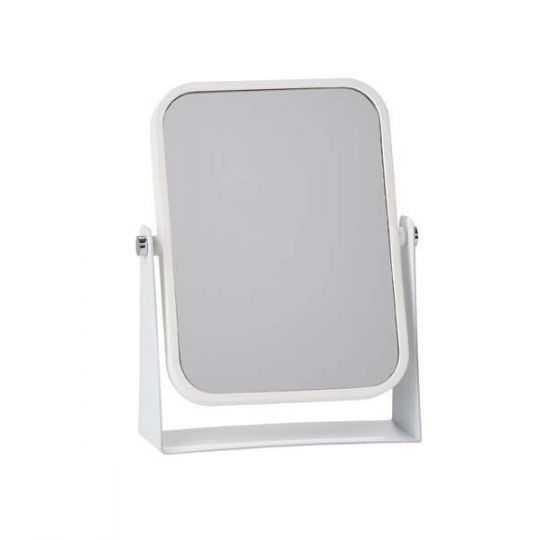 Zone Bordspejl 15x6 cm hvid