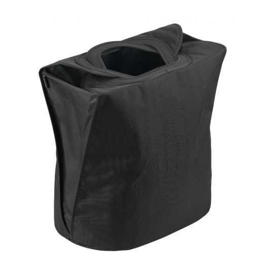 Zone Vasketøjskurv 60 L sort