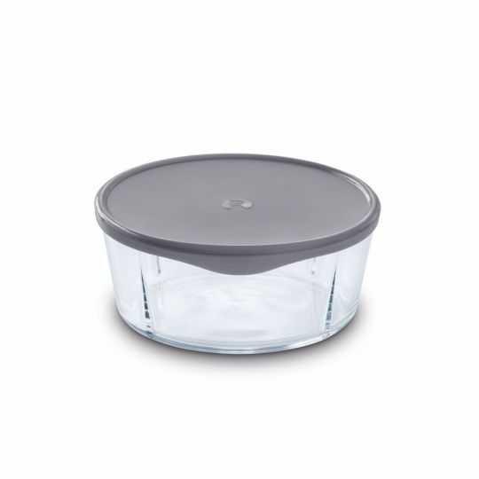 GC Låg til skål Ø19,5 cm grå