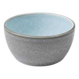 BITZ Skål 10x5 cm grå/lyseblå