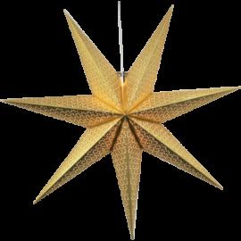 Stjerne Dot 100x100 cm guld