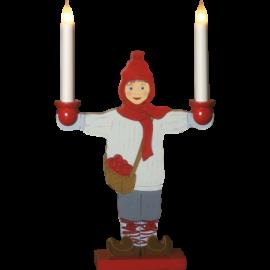 Lysestage Sundborn dreng H48 cm