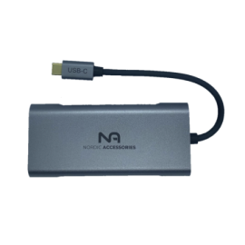 Nordic USB-C Dock 7-in-1 adapter