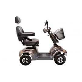 El-scooter PF2K 550W 36AH 4 hjul mokka