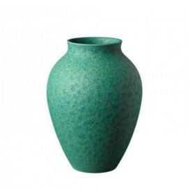 Knabstrup Vase, irgrøn, 20cm