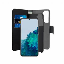 Puro Galaxy S21+ Wallet Cover Black
