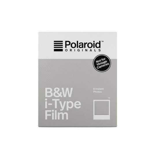Polaroid Originals i-type sort-hvid film (8 ark)