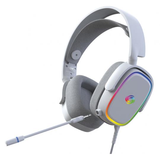 NOS H-500 gaming headset hvid