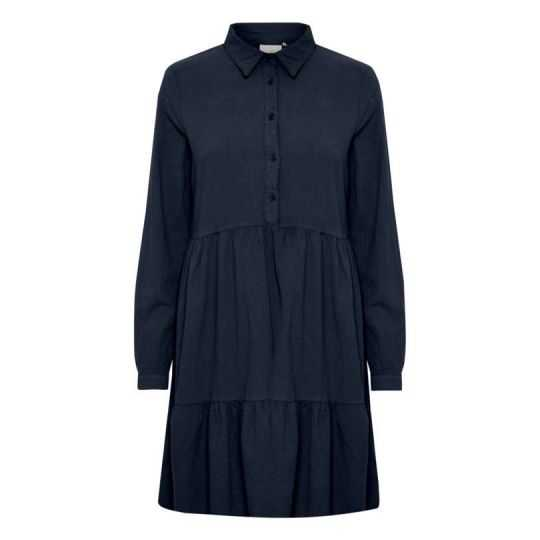 KAFFE KANAYA DRESS BLUE