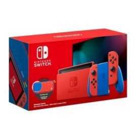 Nintendo Switch Mario Red & Blue Konsol