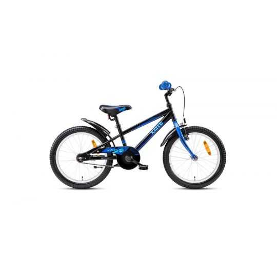 "Børnecykel 18"" Rocket sort/blå"
