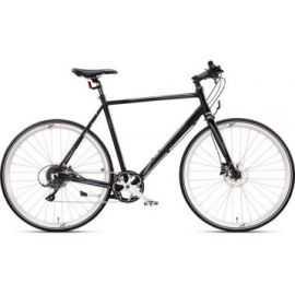 """Citybike herre 28"""" sport-8 sort/sølv"""