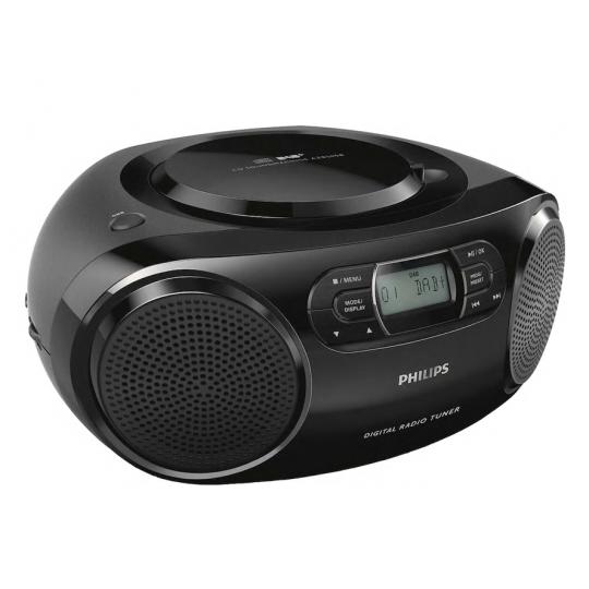 Philips CD afspiller/Radio Sort AZB500/12