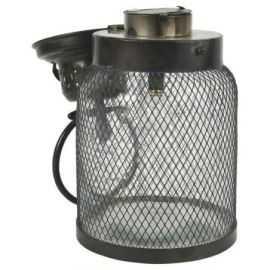 LED Lanterne m/net omkring glasset H33