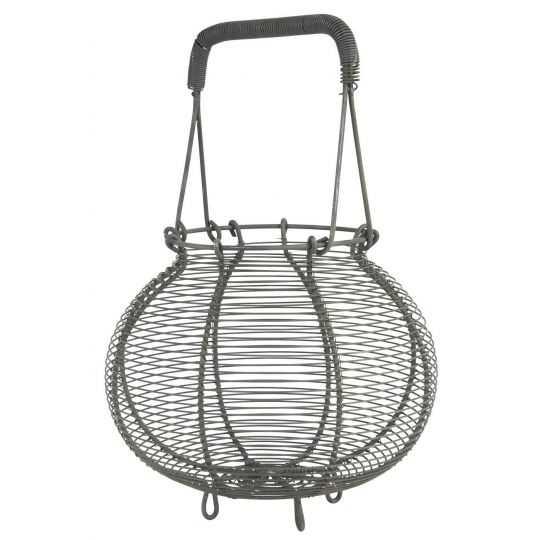 Løgkurv tråd 35x22,5 cm metal