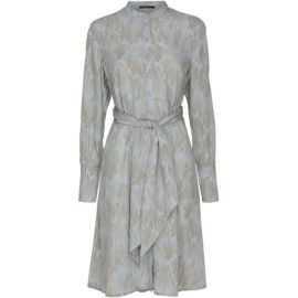 CADDIS FLY PRINT SHIRT DRESS