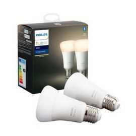Philips Hue White LED-pære A60 E27 2 Pak
