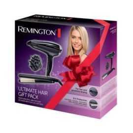 Remington hårtørrer/glattejern gavepakke