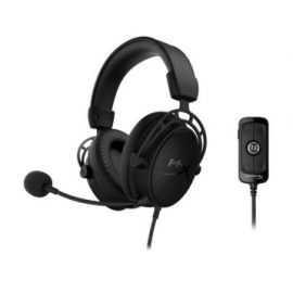HyperX Cloud Alpha S gaming headset Sort