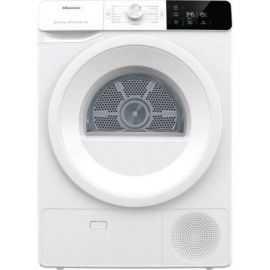 Hisense tørretumbler 9kg DHGE902 Hvid