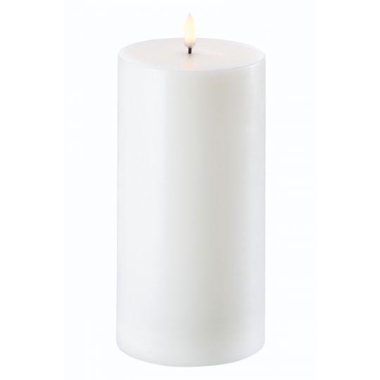 Uyuni LED Pillar Lys 10x20 cm hvid