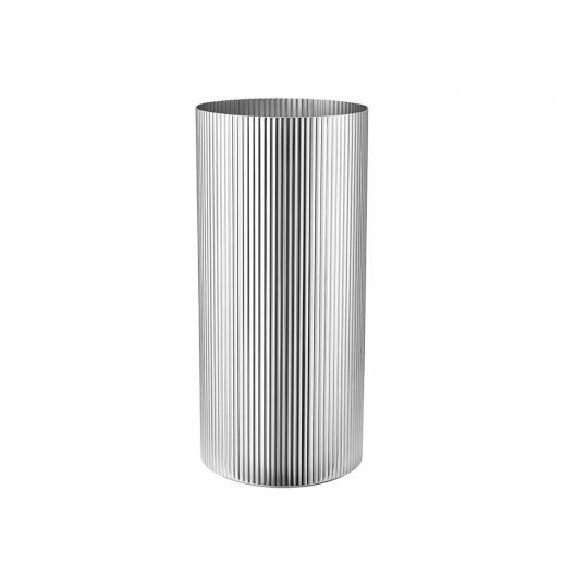 GJ Bernadotte Vase H26 cm stål
