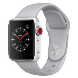 Apple Watch Series 3 38mm sølv