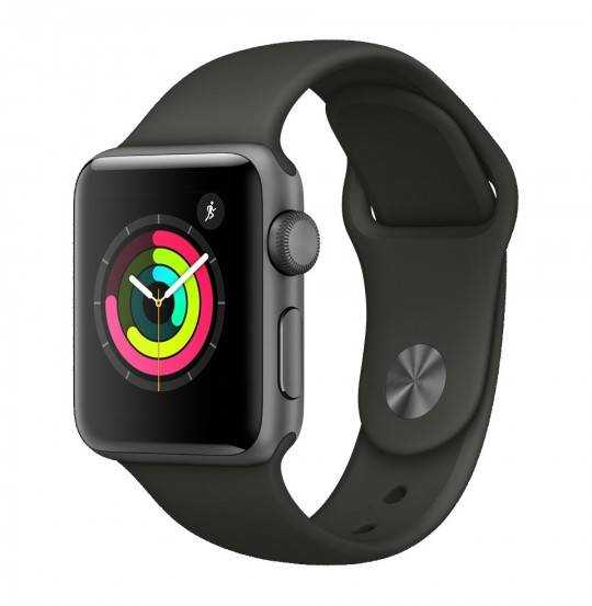 Apple Watch Series 3 42 mm sort