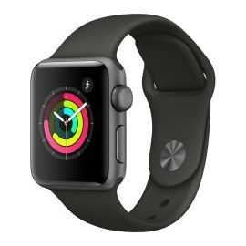 Apple Watch Series 3 42 mm sort
