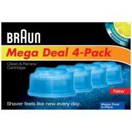 Braun Clean&Renew refill 4-pak