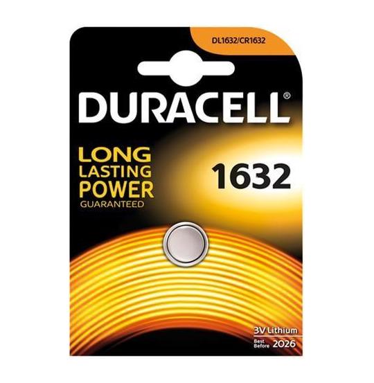 Duracell 1632, 1pcs Knapbatteri