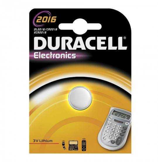 Duracell 2016 1pk