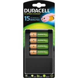 Duracell 15Min AA/AAA Charger + 4xRecharge