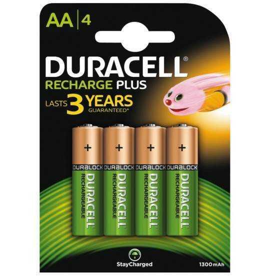 Duracell AA 1300mAh 4pk