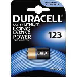 Duracell Ultra Lithium Photo 123 Batteri, 1pk