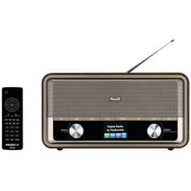Radionette Menuett radio - træ