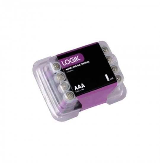 Logik AAA 24 Stk. batterier