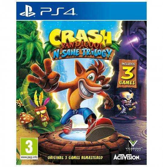 PS4: Crash Bandicoot N Sane Trilogy