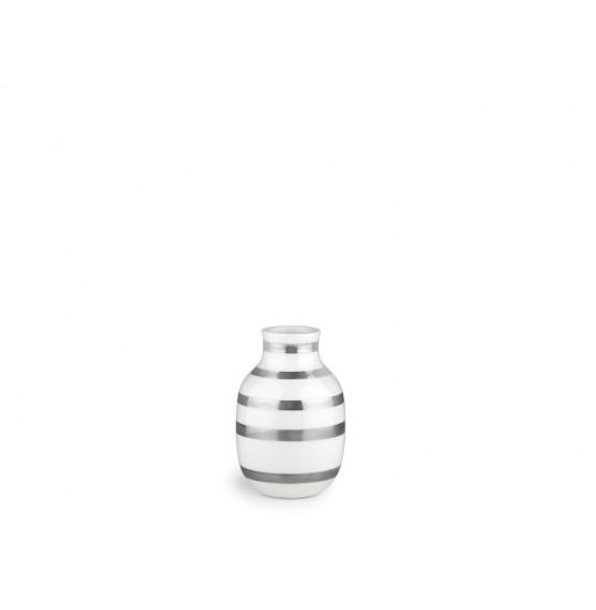 Omaggio Vase H12,5 sølv