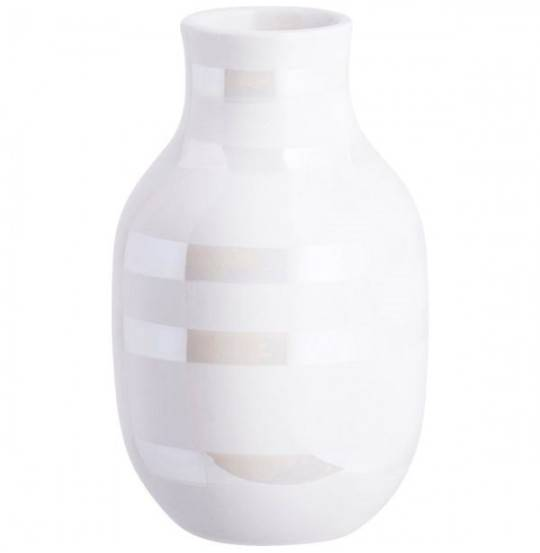 Omaggio Vase H12,5 perlemor