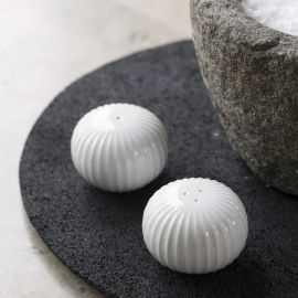 Hammershøi Salt-og pebersæt Ø6cm hvid