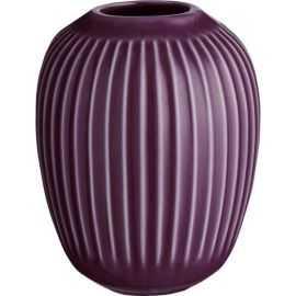 Hammershøi Vase H10 blomme