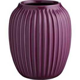 Hammershøi Vase H20 blomme
