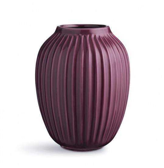Hammershøi Vase H25 blomme